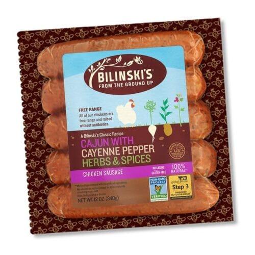 Bilinskis Natural Sausage Cajun
