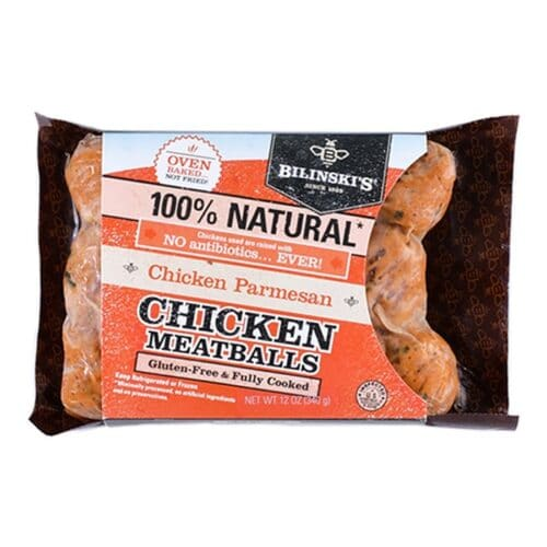 Bilinskis Chicken Parmesan Meatballs 8pc]