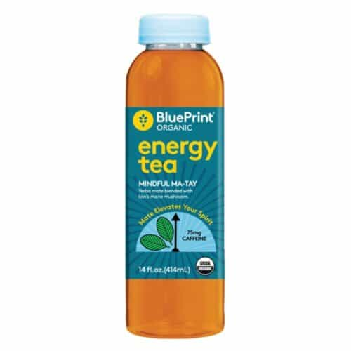 BluePrint Organic Yerba Mate Tea With Lion's Mane Mushroom