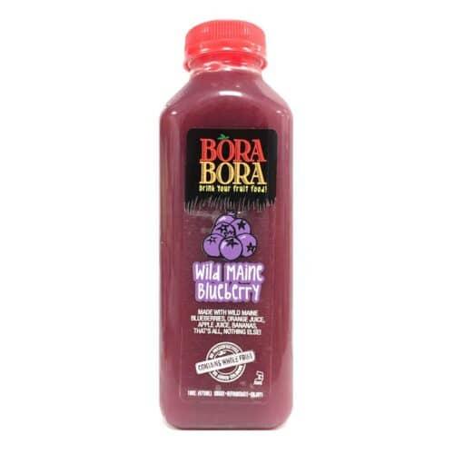 BoraBora Juice Wild Maine Blueberry