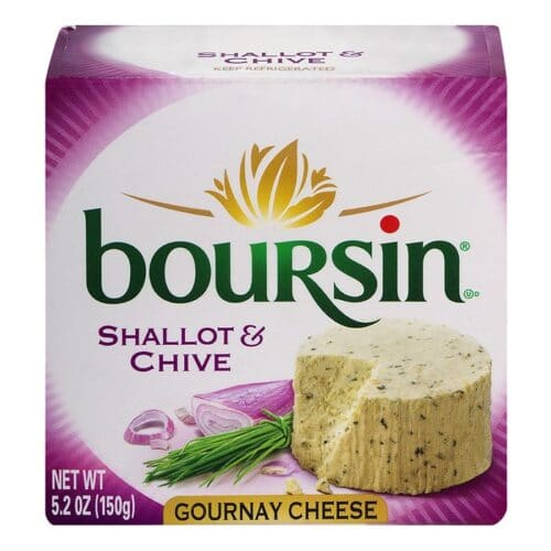 Boursin Shallot & Chive (6 pc)