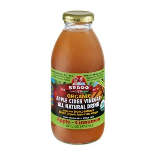 Bragg ORGANIC Apple Cider Vinegar & Apple-Cinnamon
