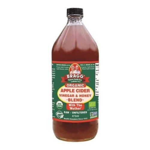 Bragg Organic Apple Cider Vinegar & Honey Blend (12/16oz)