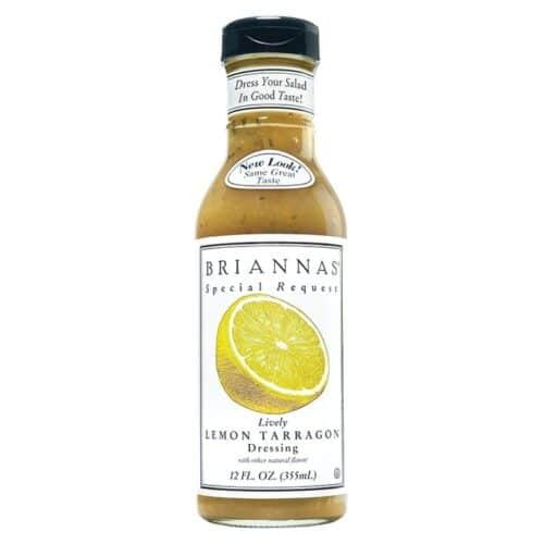 Briannas Dressing Lively Lemon Tarragon