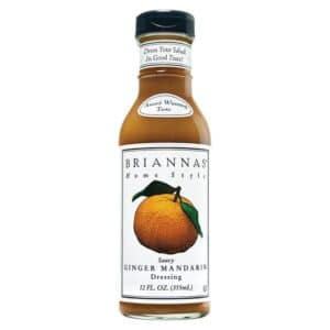 Briannas Dressing Saucy Ginger Mandarin
