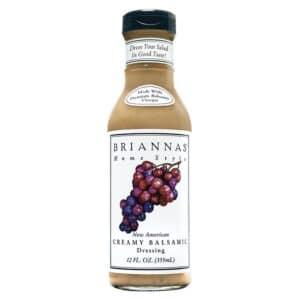 Briannas Dressing New American Creamy Balsamic