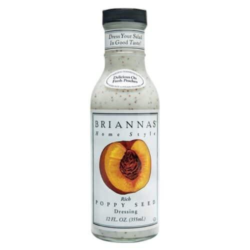 Briannas Dressing Rich Poppy Seed
