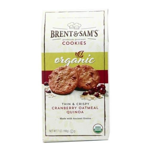 Brent & Sam's Organic Thin & Crisp Cranberry Oatmeal Quinoa