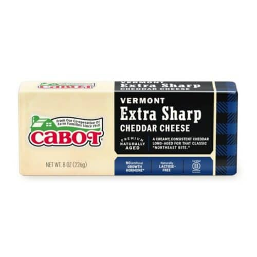 Cabot Vermont Extra Sharp White Cheddar Bar  (12 pc)