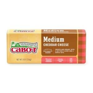 Cabot Medium Cheddar Bar  (12pc)