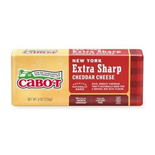 Cabot NY Extra Sharp White Cheddar Bar  (12 pc)