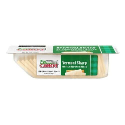 Cabot Cracker Cut Vermont Sharp White Cheddar  (12pc)
