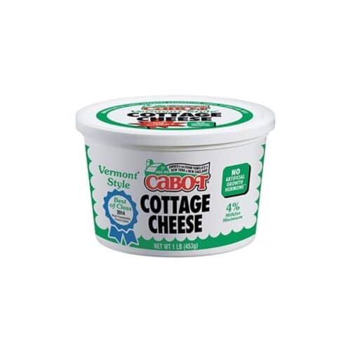 Cabot Regular Cottage Cheese #0108 (12 PC) #1768 (6 PC)