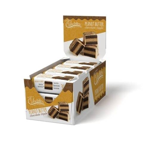 Cakebites Chocolate Ripple Peanut Butter