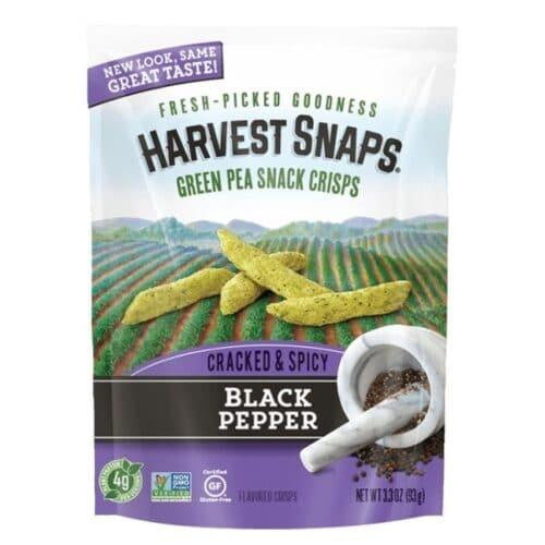 Calbee Snapea Crisps Black Pepper