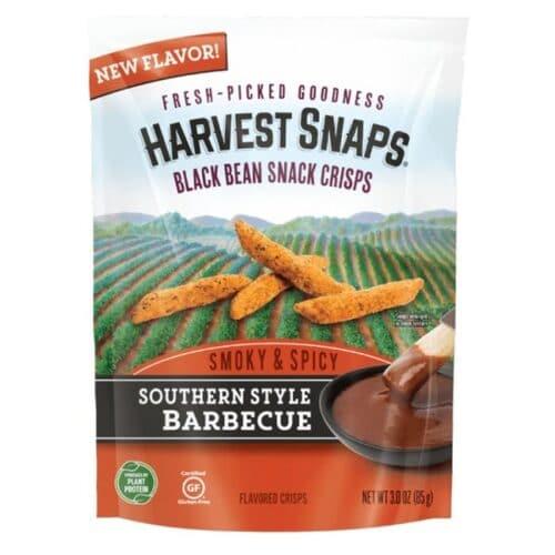 Calbee Harvest Snaps Black Bean Smoky & Spicy BBQ