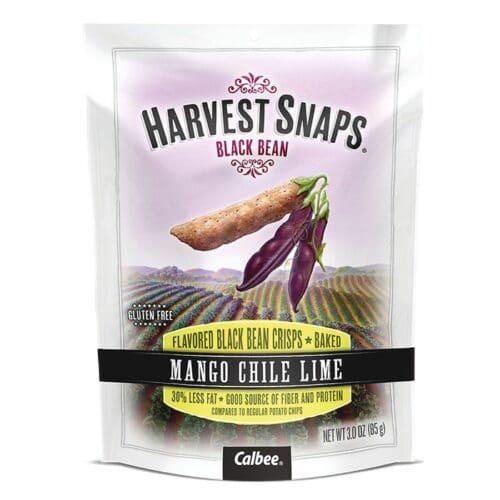 Calbee Harvest Snaps Black Bean Mango Chile Lime 3 oz