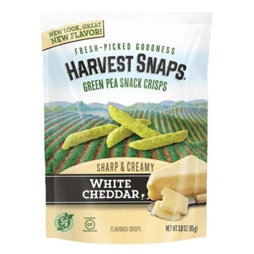 Calbee Harvest Snaps White Cheddar