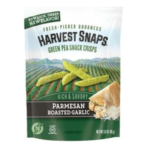 Calbee Harvest Snaps Parmesan Roasted Garlic