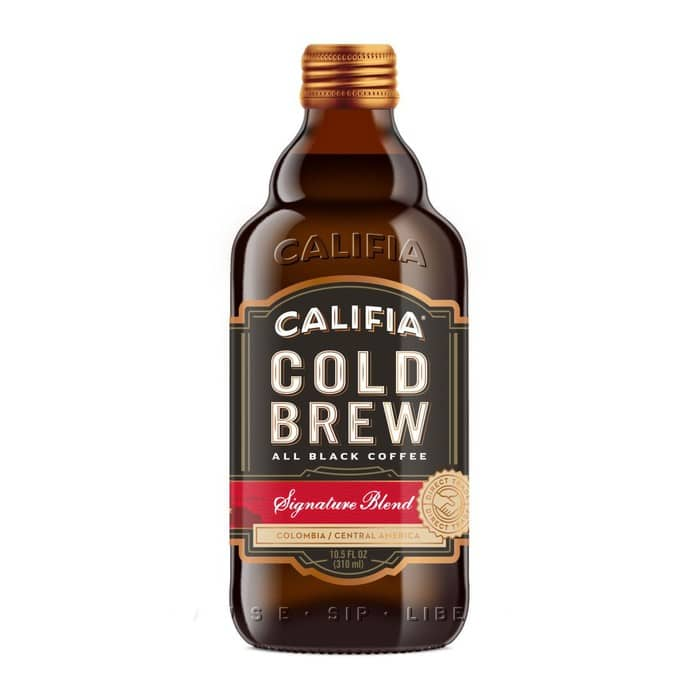 Califia Farms Cold Brew Black Coffee Signature