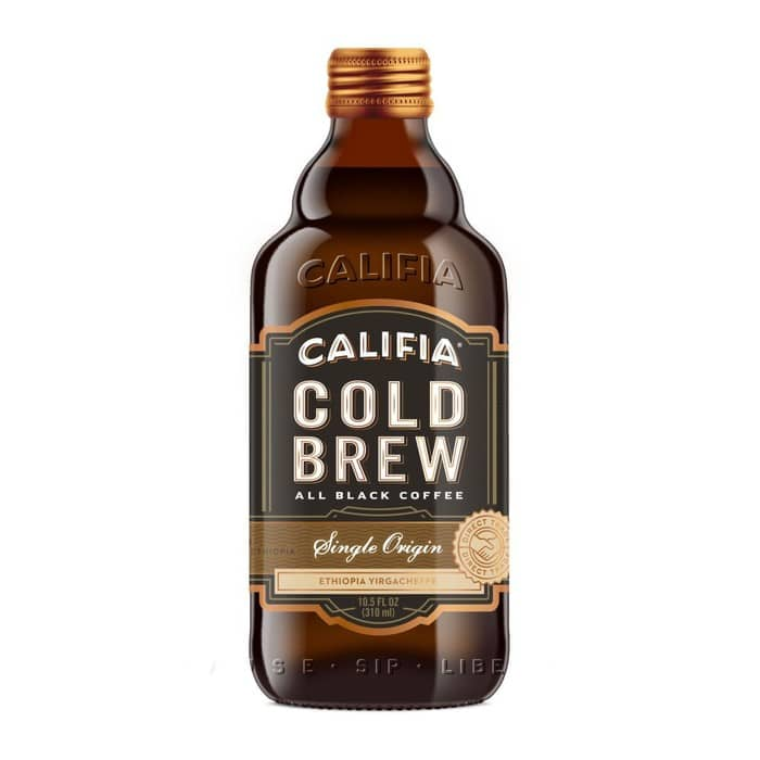Califia Farms Cold Brew Black Coffee Single Origin