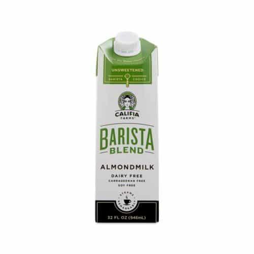 Califia Farms Barista Pure Almondmilk Unsweetened(6/32oz)