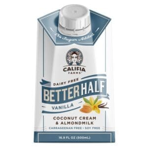 Califia Farms Better Half Vanilla Coconut Cream & Almondmilk (6/16.9oz)