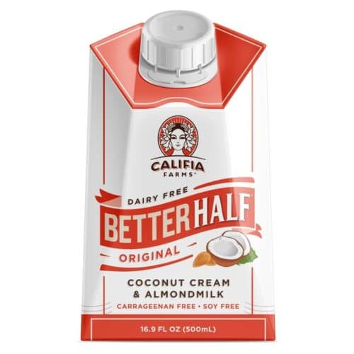 Califia Farms Better Half Original Coconut Cream & Almondmilk (6/16.9oz)