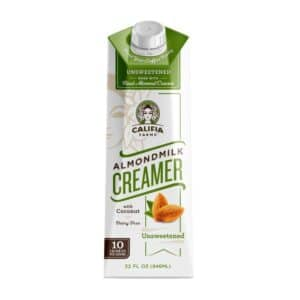 Califia Farms Coffee Creamer Unsweetened (6/32oz)