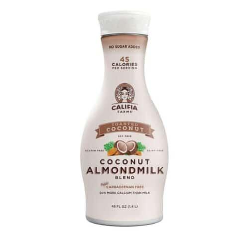 Califia Farms Pure Almondmilk Toasted Coconut(6/48oz)