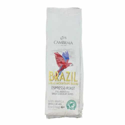 Cambraia 100% Arabica Coffee Whole Beans Minas Mountains Espresso Roast