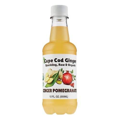 Cape Cod Organic Sparkling Raw Ginger Pomegranate