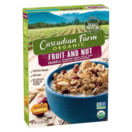 Cascadian, Org. Cereal Granola Fruit & Nut