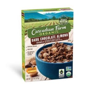 Cascadian, Org. Cereal Granola Dark Chocolate Almond