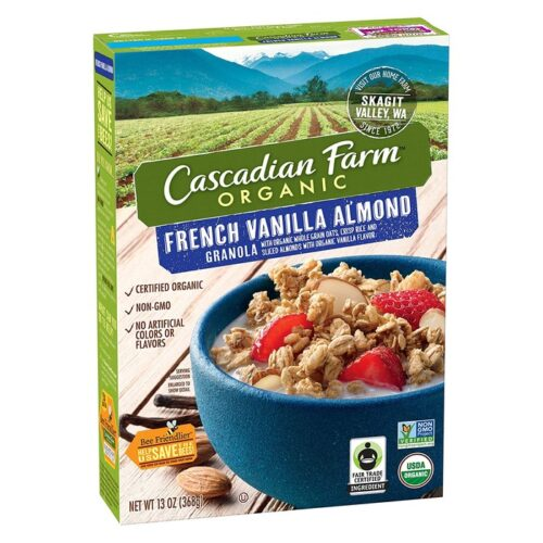 Cascadian, Org. Cereal Granola French Vanilla Almond