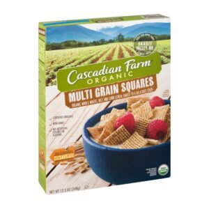 Cascadian, Org. Cereal Multi-Grain Square