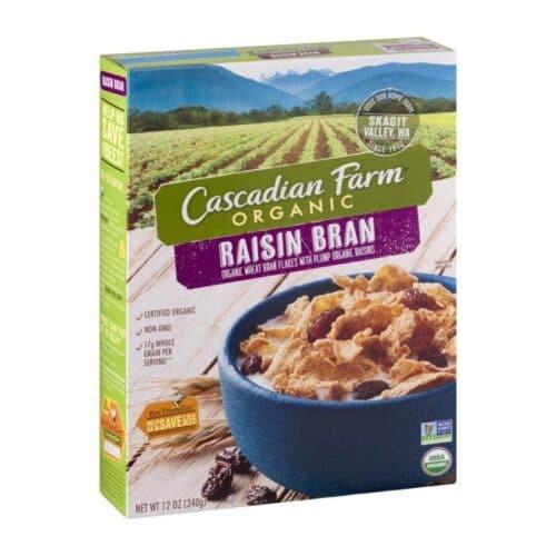 Cascadian, Org, Cereal Raisin Bran