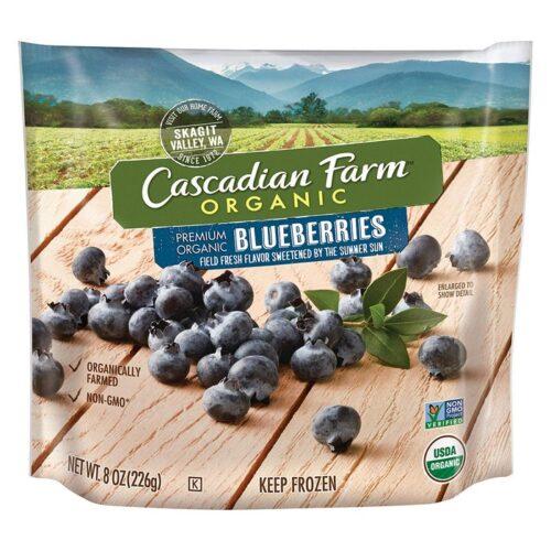 Cascadian, Org. Frozen Blueberries (#40677-7)