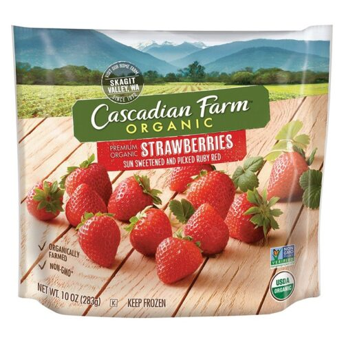 Cascadian, Org. Frozen Strawberries (#54301-4)