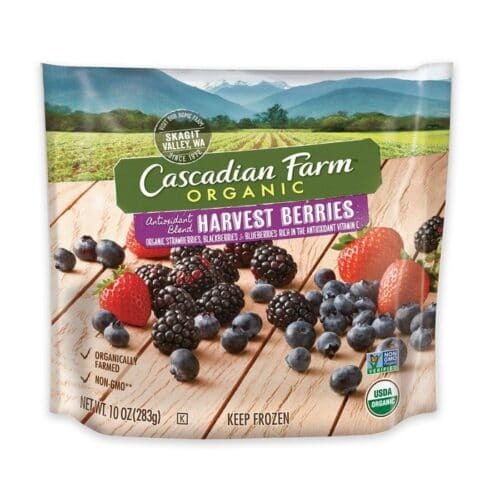 Cascadian, Org. Frozen Fruit Harvest Berries Antioxidant