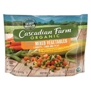 Cascadian, Org. Frozen Mixed Vegetable Poly