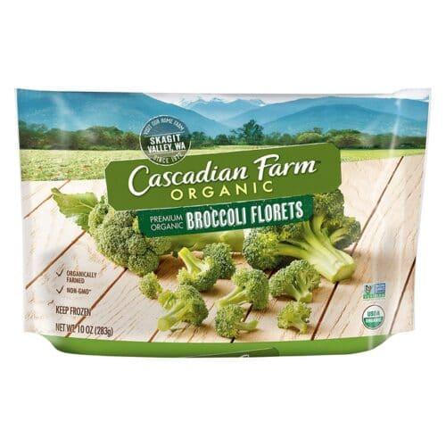 Cascadian, Org. Frozen Broccoli Florets Poly (#50335)