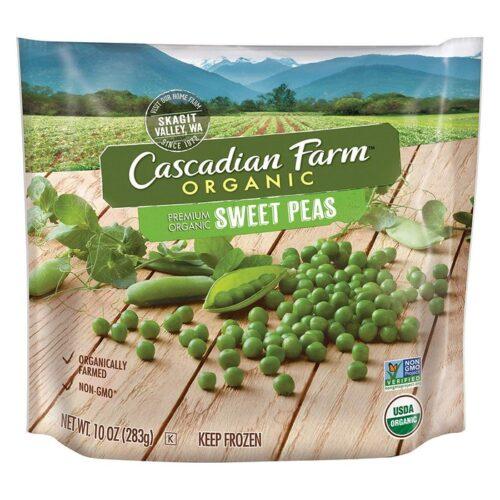 Cascadian, Org. Frozen Sweet Peas Poly (#50340-7)
