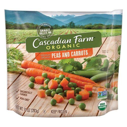 Cascadian, Org. Peas & Carrots Poly