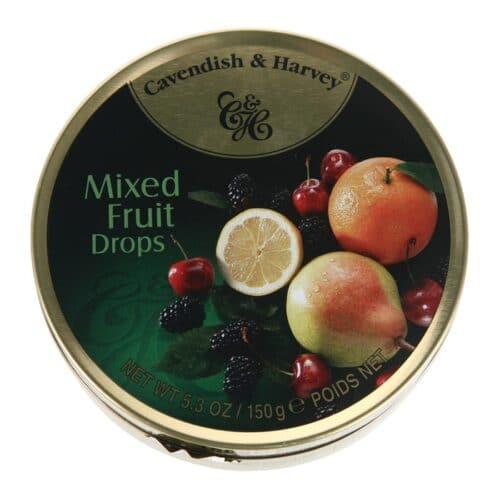 Cavendish & Harvey Mixed Fruit Tins