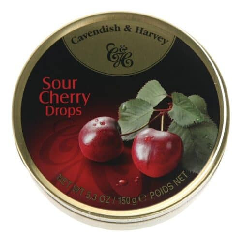 Cavendish & Harvey Cherry Fruit Tins