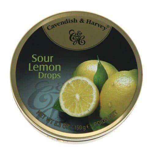Cavendish & Harvey Lemon Fruit Tins
