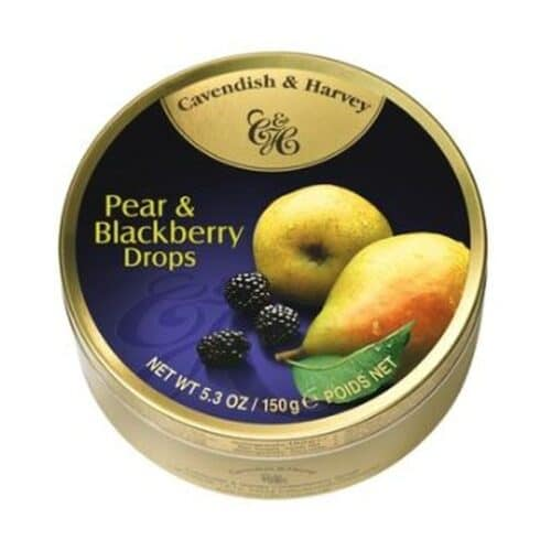 Cavendish & Harvey Pear & Blackberry Fruit Tins