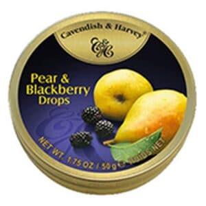 Cavendish & Harvey Pear & Blackberry Tins Small