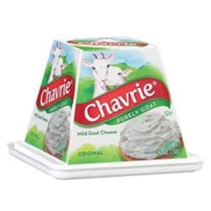 Chavrie Mild Goat Cheese – Pyramid Plain #163670 (6 pc)